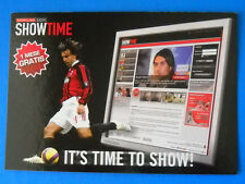 CARTOLINA PROMOCARD N.7850 - MILAN SHOWTIME - PIRLO - IT'S TIME TO SHOW!