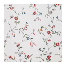 IKEA LJUSOGA Shower Curtain Floral Pattern On White 71 X Water Repellent NEW