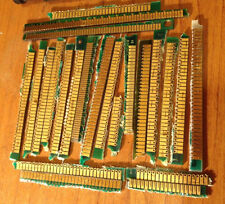 Lot of 20 grams Scrap Gold Memory Fingers Double- Side Gold Recovery High Yield-