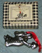 Cobble Creek Inspirational Angel Love / Life Ornament