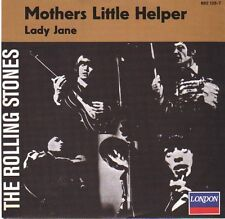 "ROLLING STONES Mother's Little Helper & Lady Jane PIC SLEEVE 7"" 45 rpm BRAND NEW"