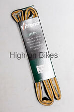 Vittoria Rally Road Bike TUBULAR Tyre 700 x 25 Amber Wall