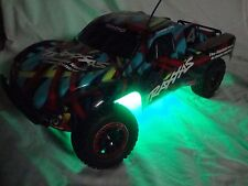 Traxxas Slash 2WD / 4x4, VXL / XL-5 V2 LED underglow kit - GREEN
