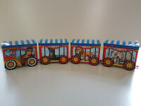 CADBURYS ANIMAL CIRCUS TIN TRAIN Vintage 80s Fully Complete EXCELLENT CONDITION