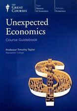 Teaching Co. Great Courses UNEXPECTED ECONOMICS 12 CD Audio Course 5657 Pristine