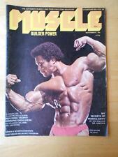 MUSCLE BUILDER bodybuilding magazine/RICK WAYNE/Arnold Schwarzenegger 11-72