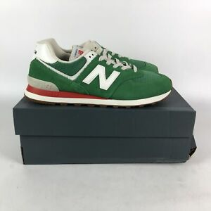 New Balance 574 Rainbow Pack Sneakers Mens Size 11 Green ML574HE2