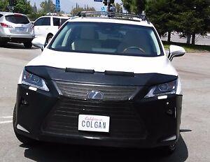 Colgan Front End Mask Bra 2pc Fits 16-19 Lexus RX350 & RX450H W/O License,W/sen.