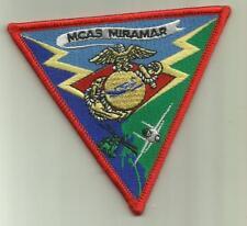 MCAS MIRAMAR USMC PATCH  MARINE CORPS FIGHTERJET PILOT HELICOPTER CREW SOLDIER