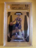 2017-18 Prizm Kyle Kuzma RC Rookie Card #283 BGS 9.5 Gem Mint LA Lakers Panini