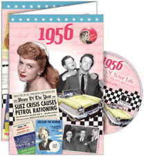 24026 1956 DVD CARD DVDCARD BIRTHDAY GREETING VISUAL HISTORY OF A SPECIAL YEAR