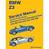 BENTLEY BMW Z3 (96-02) ROADSTER COUPE Owners Service Workshop Manual Handbook