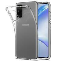 Hülle für Samsung Galaxy S20 Handy Schutz Hülle Silikon Transparent Case Cover