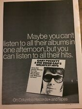 Gary Puckett and the Union Gap, Full Page Vintage Promotional Ad