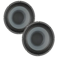 Pair Eminence BETA-10CX 10 inch Coax Woofer 8 ohm 250W RMS Replacement Speaker