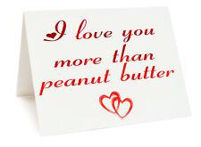 anniversaire ST.VALENTIN Carte d'anniversaire - I Love You Plus de Beurre