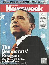 Newsweek magazine President Barack Obama American women Steve Jobs Middle East