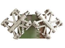 """New Wellgo B137R BMX Bicycle Bike Magnesium Pedals 9/16"""" Titanium"""