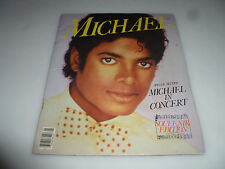 VINTAGE MICHAEL JACKSON IN CONCERT SOUVENIR EDITION VOL 1 NO 1 1984 PROGRAM BOOK