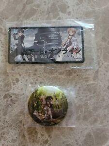 Sword Art Online Patch & Pin / Button, Asuna & Kirito