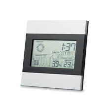 Stylish Desk Weather station Clock. Displays Forcast, Humidity, Time and Temp