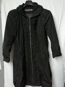 Schwarzer Mantel von Creenstone Gr. 44