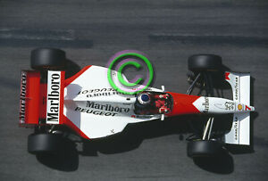 Racing Original 35mm Slide F1 Mika Häkkinen - McLaren 1994 Monaco Formula 1