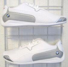 Men's Puma BMW MMS Drift Cat 8 Sneakers, New White Sport Life Walking Shoes Sz 9