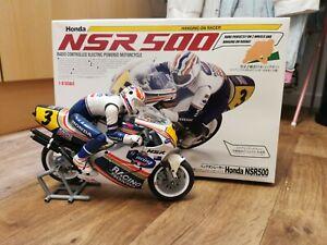 Kyosho Nsr 500 Bike Hanging On Racer 1:8 Scale