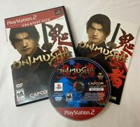Onimusha Warlords - Complete PlayStation 2 PS2 Game Tested Working