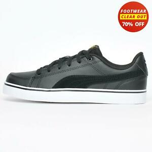 Puma Court Point Vulc v2 Junior Kids Casual Retro Vintage Sneakers Trainers