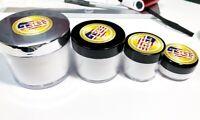 Powder Acrylic Nail System Crystal CLEAR Color - Made in USA  Choice 0.5oz - 4oz