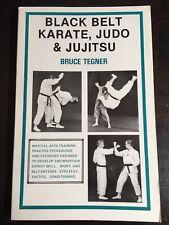 Black Belt Karate Judo & Jujitsu NOS