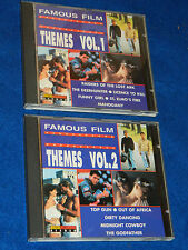 LOT 2 CD FAMOUS FILM themes VOLUME 1-2 the london starlight orchestra & singers