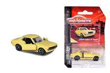 Majorette 212052010q03-vintage Cars-toyota celica gt coupé-amarillo-nuevo