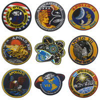 Apollo Series Embroidered Sew On Patches Stick On Badge Armband For DIY Clothing