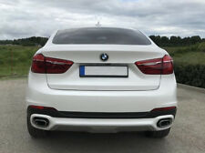 BMW X6 F16 Rear Bumper SE diffuser addon difuser spoiler skirt Bottom Trim Cover