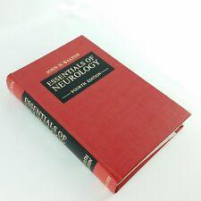 Essentials of Neurology 4th Ed 1975 Vintage Book John Walton HC Original Receipt