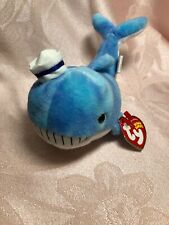 Ty Beanie Baby ~ CAPTAIN the Whale