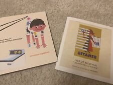 2 très rares catalogues d'affiches et maquettes HERVÉ MORVAN