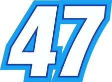NEW FOR 2020 #47 Ricky Stenhouse Jr Racing Sticker Decal - SM thru XL - Various