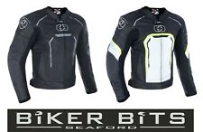 OXFORD PRODUCTS STRADA Mens' Leather Cheap Sports Motorbike Jacket CE Approved