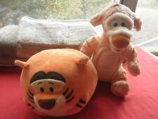 LOT OF 2 DISNEY TIGGERS TY & COZY PASTEL CUTIES