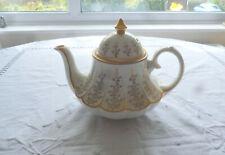 Unusual Gold and Cream Sadler Teapot