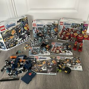 3 X LEGO Sets - 76164, 76143, 76167 Marvel Avengers - No Figures, Please Read