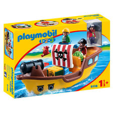 Playmobil 123 Pirate Ship 9118 NEW