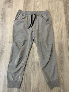 "Lululemon Jogger Sweat Pants Mens Size XL Gray Inseam 29"""