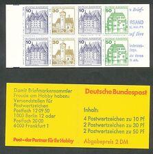 Bundespost boekje 22 I a oZ postfris