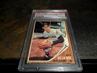 1962 Topps #123 MIKE DeLaHOZ SIGNED CLEVELAND INDIANS AUTO PSA/DNA