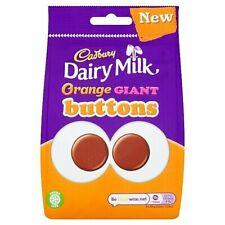 Cadbury Dairy Milk Orange Giant Buttons full case 10x110g / sharing bag